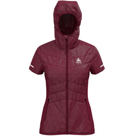 Odlo Irbis X-Warm Running Vest Women red